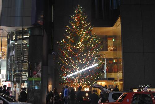 ginza christmas