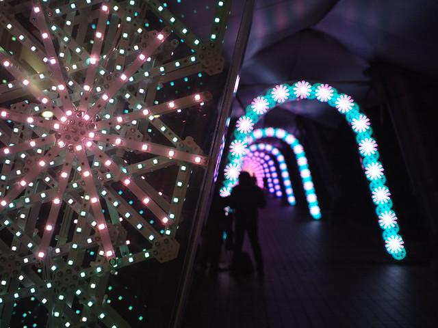 Tokyo dome city Illumination 3