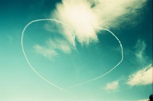 ❤ in the sky