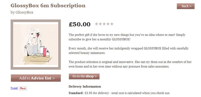 GlossyBox 6m Subscription