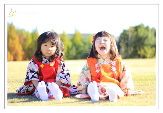 子供写真 キッズフォト 赤ちゃん写真 ベビーフォト 屋外 モリコロパーク 七五三