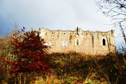 Doune Castle -Rear