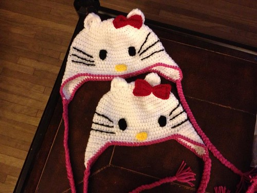hello kitty hats by ElizabethTore