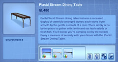 Placid Stream Dining Table
