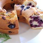 ブルーベリーのリングケーキ