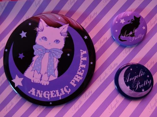 Angelic Pretty Badge Set