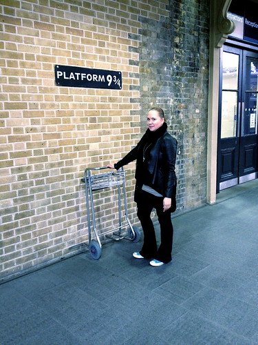 King's Cross platform 9 and 3/4
