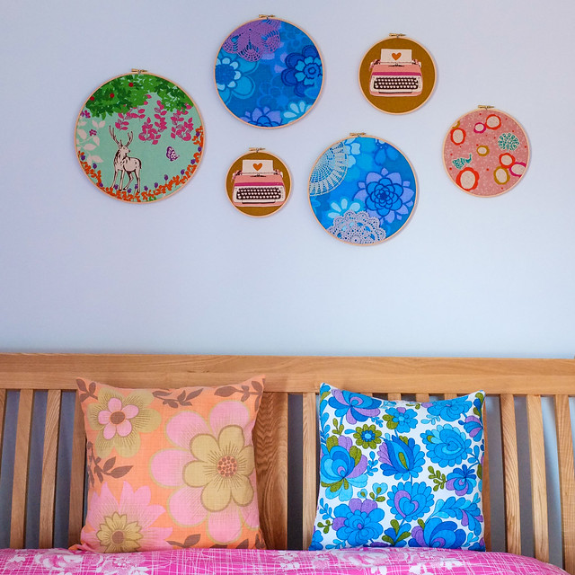 Embroidery hoop weekend fun