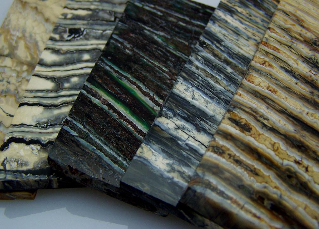 couteau molaire de mammouth fossile pour manche de couteaux