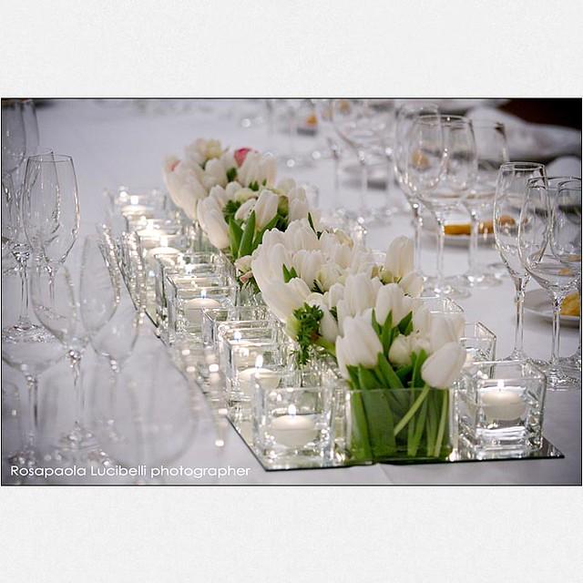 Modern white low centerpiece flickr photo sharing