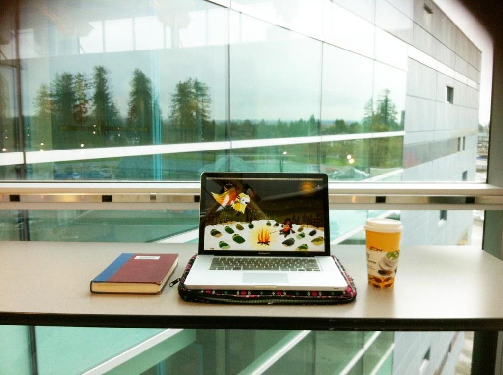 workspace on campus