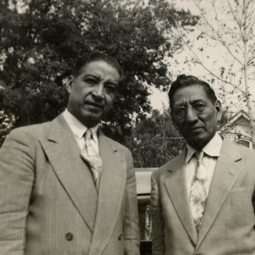 LULAC Leaders, Alonso S. Perales with José Luz Sáenz