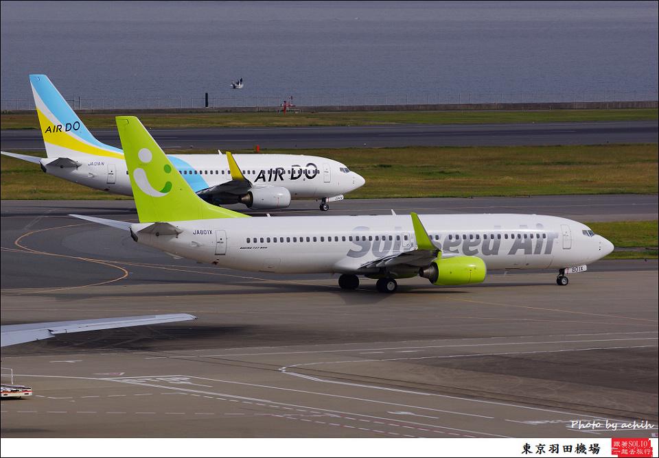 Solaseed Air / JA801X / Tokyo - Haneda International