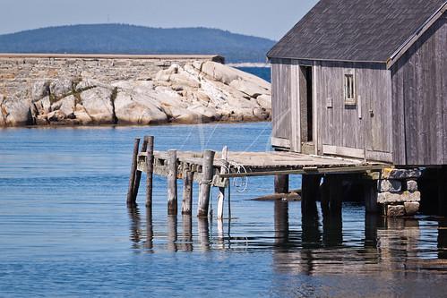 ocean dock rocks atlantic hills shack maritimes ballantynescove