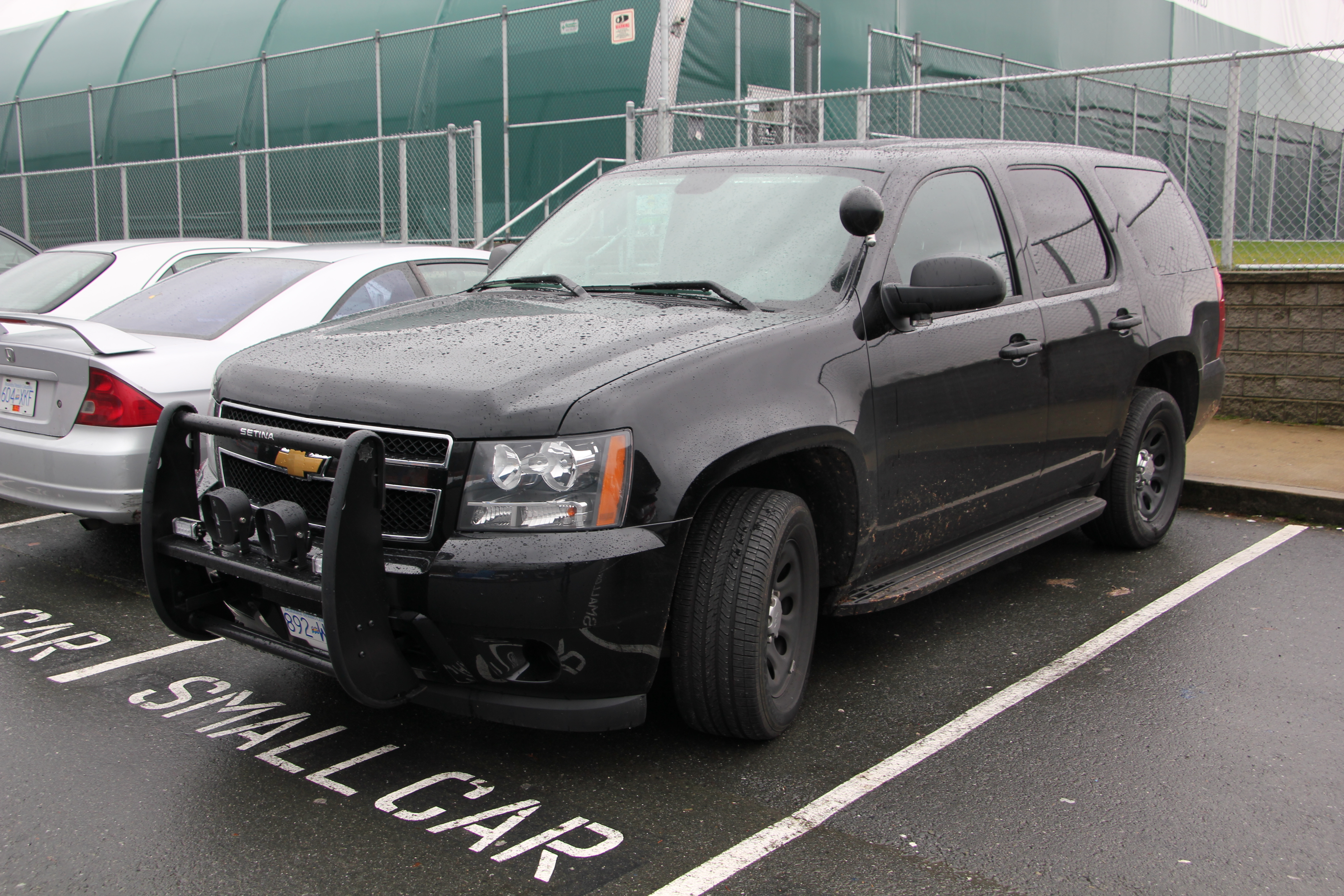 Black chevrolet tahoe with tuff bar want pinterest chevrolet tahoe and chevrolet