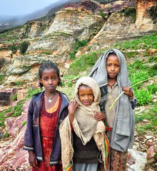 Isolated Children, Tigray
