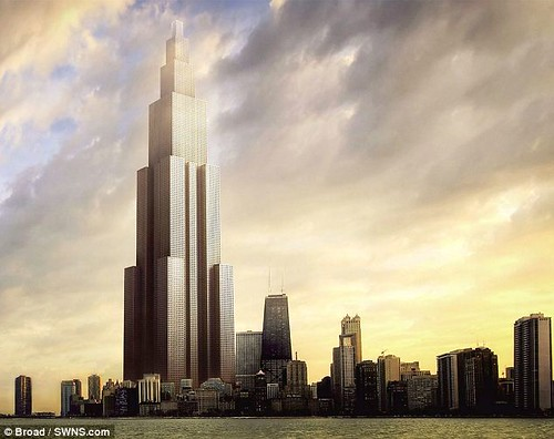 Sky City - самый высокий небоскреб мира всего за три месяца построят китайцы
