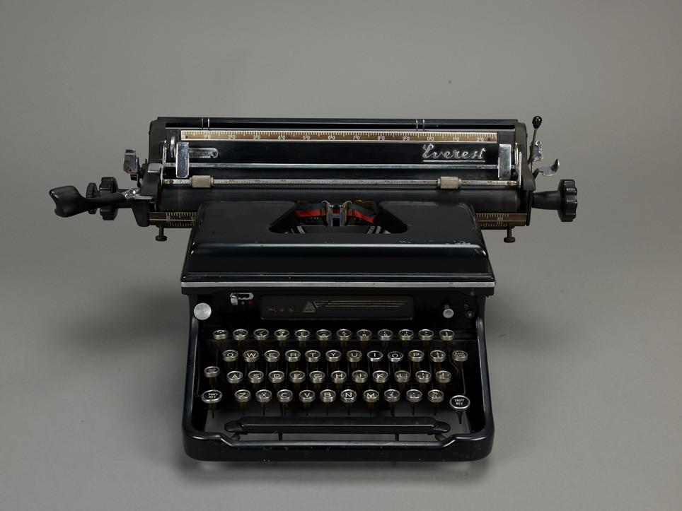 Benjamin Zephaniah's Typewriter