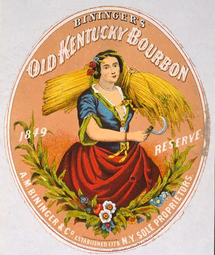 Bininger's Old Kentucky Bourbon