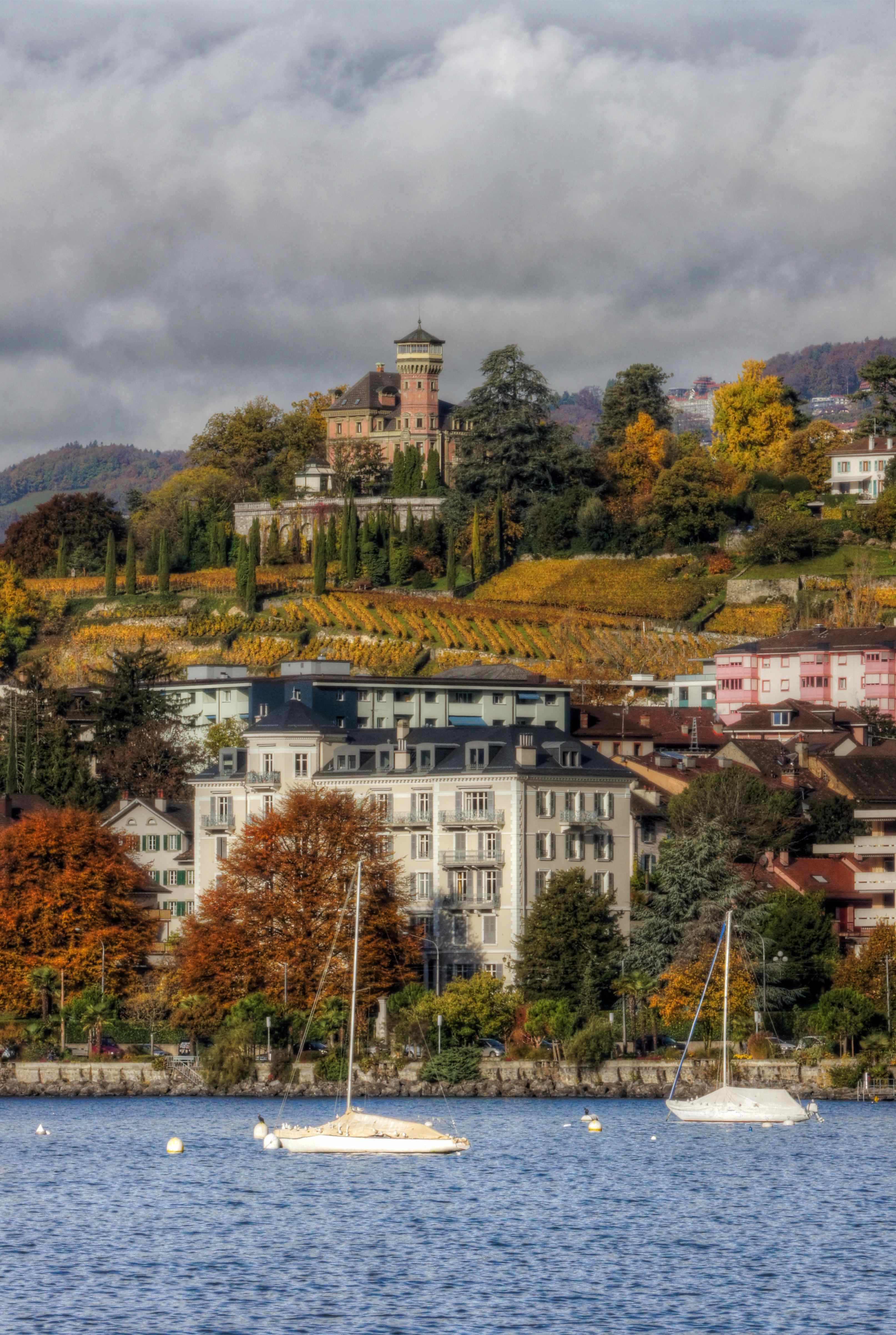 how to get to montreux switzerland