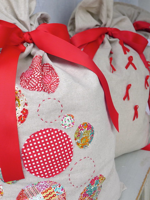 Christmas Sack detail