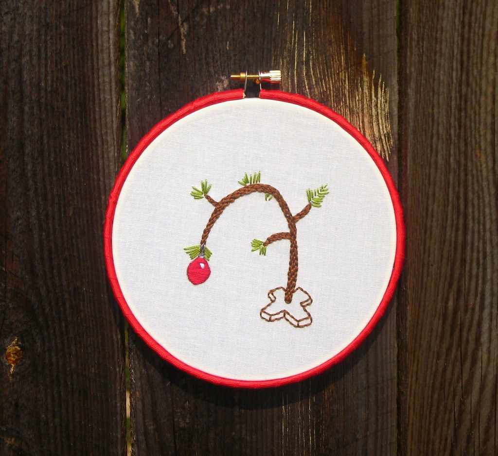Christmas Embroidery Patterns Free.Wool And Wheel A Free Christmas Embroidery Pattern For You