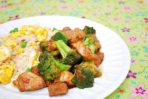 Instant Pot: Teriyaki Pork & Broccoli Stir Fry