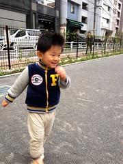 タコ公園にて (2012/11/24)