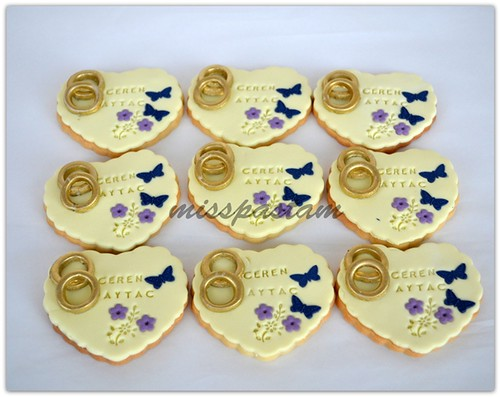 wedding cookies by MİSSPASTAM