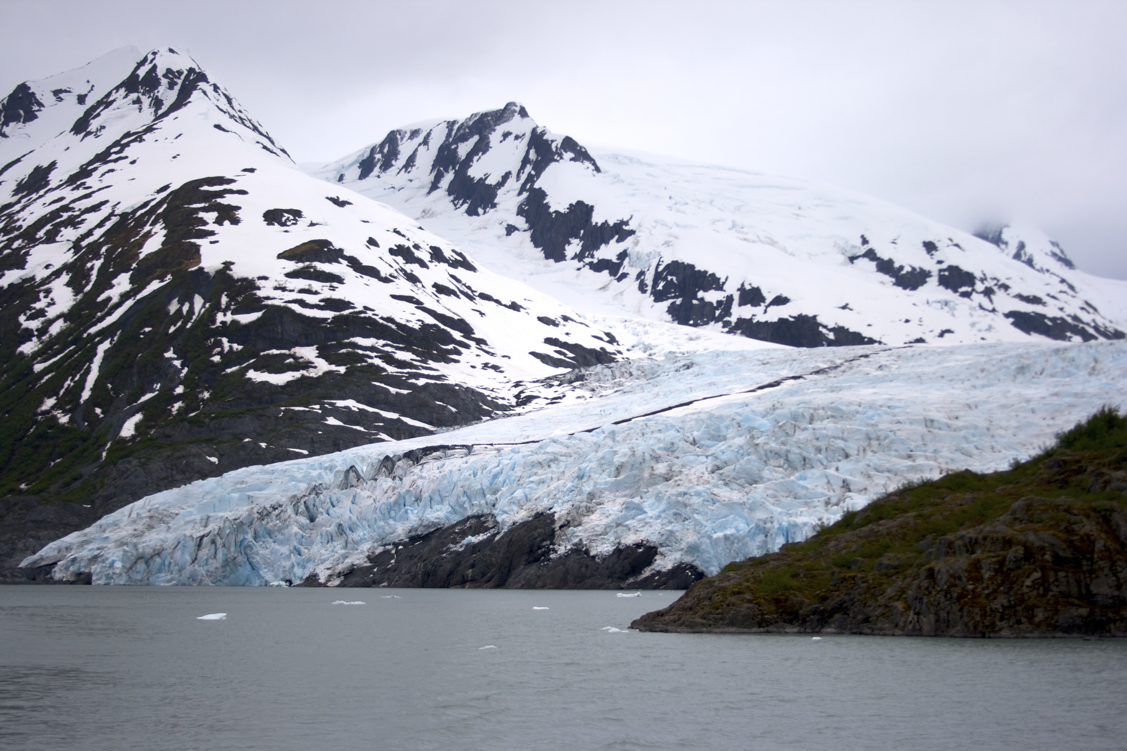 Meet the giant of Portage Lake - the Portage Glacier