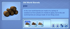 Old Worls Barrels