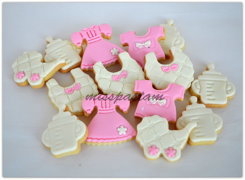 baby shower cookies by MİSSPASTAM