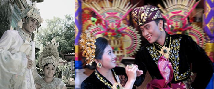 Blog foto pernikahan yang disajikan dalam satu halaman penuh...