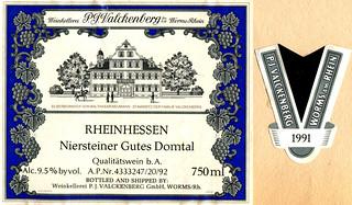 1991 - Niersteiner Gutes Domtal (Rhine)
