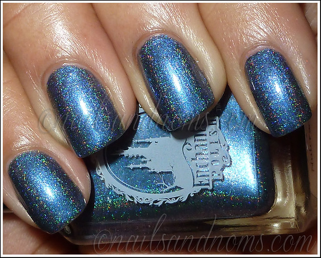 Enchanted Polish Ho Ho Holoday - Bruised Nutcracker Flash 1