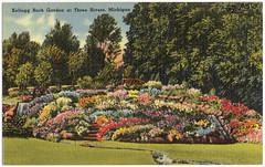 Kellogg Rock Garden at Three Rivers, Michigan