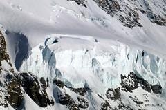 Gletscherabbruch am Mönch, Südflanke