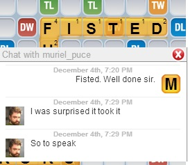 Words with Friends lulz