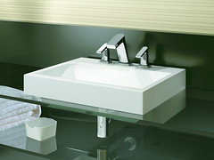 floor(0.0), bathroom cabinet(0.0), bathtub(0.0), ceramic(0.0), bidet(0.0), room(1.0), plumbing fixture(1.0), tap(1.0), bathroom(1.0), sink(1.0),