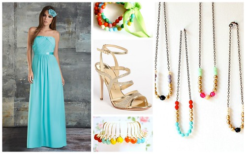 {Colorful Accessories} Bridesmaid's Style by Nina Renee Designs