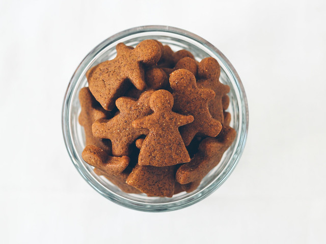 Mini gingerbread folk