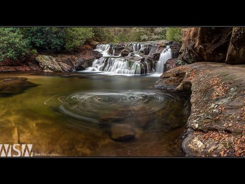 longexposure usa nature water creek ga georgia landscape waterfall pano panoramic photomerge pan hdr northgeorgia dickscreek photomatix turnerscorner