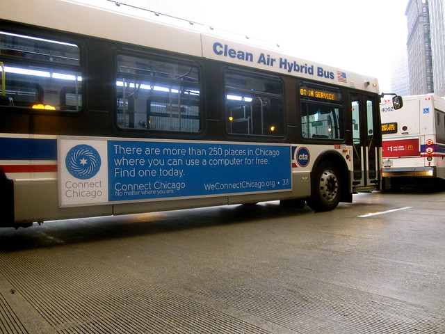 Connect Chicago Bus Ad - King
