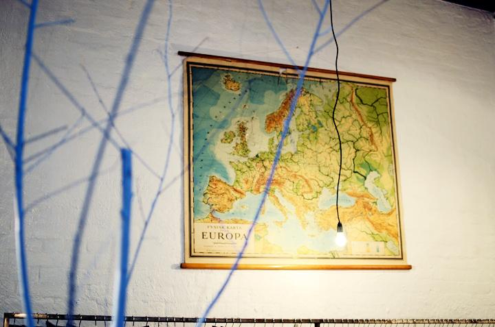 dansk map