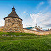 Solovetsky Monastery on Solovetsky Islands. White Sea. Russia