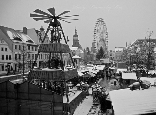 Christmas Market, Cottbus by Daily Frames by Fera-
