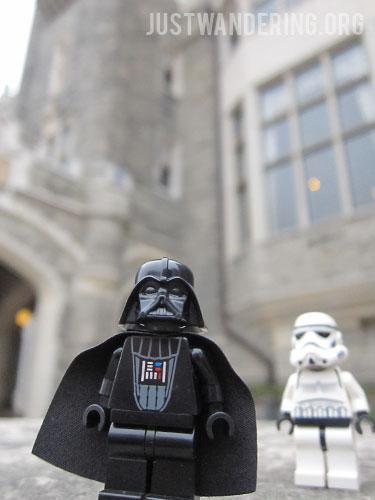 Darth Vader at Casa Loma