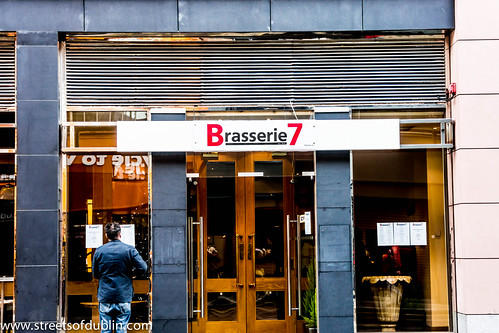 New Brasserie 7 Restaurant On Abbey Street (I Was Their First Very Customer) by infomatique