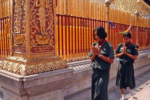 geotagged thailand southeastasia 35mmfilm chiangmai buddhisttemple norththailand thaibuddhism suthep thaitemple canonftb fujisensia watphrathatdoisuthep theravadabuddhism วัดพระธาตุดอยสุเทพ daviddorren thaiboyscouts thaigirlguides thaigirlscouts geo:lat=18804694680234146 geo:lon=9892173528671265 phunoiexcavation สมาคมผู้บำเพ็ญประโยชน์แห่งประเทศไทยในพระบรมราชินูปถัมภ์