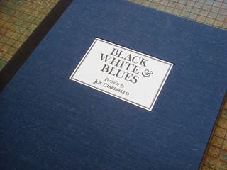 Black White & Blues limited edition book